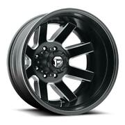 1 Fuel Offroad Maverick Dually Front D538 - 24x8.25 | -201 Offset | 8x170 Whee