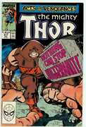 Thor 411 8.0 // 1st Appearance Of New Warriors Marvel 1989