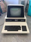 Commodore Pet 2001 Series Professional Computer Sold As Is…. Powers On