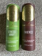 Young Living 1 Thieves And 1 Stress Away Roll-ons 10ml Nib Sealed