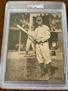1909-13 M101- 2 Sporting News Supplements Thomas W. Leach- Psa Only One