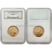 Great Britain 2000 Britannia 50 Pounds Gold Coin Ngc Ms64 Sku 1766