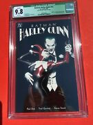 Batman Harley Quinn Dc Comics Paul Dini Story, Alex Ross Cover, Signed By Sowd