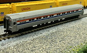 N Scale Amtrak Budd Passenger Car With Mtl Knuckle Couplers.