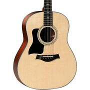 Taylor 317 Grand Pacific Dreadnought Left-handed Acoustic Guitar Natural