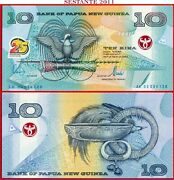 Papua New Guinea 10 Kina 2000 Commemorative P 23 Unc Free Shipping From 75 Andeuro