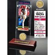St. Louis Cardinals Michael Wacha 2015 Player Ticket And Coin