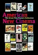 American 70's Cinema Movie Great Film Posters Collection Book Japan Hollywood