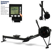 Model D Wind Resistance Rowing Machine 12 Resistance Level W/pm5 Monitor