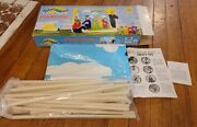 1998 Teletubbies Playhouse Unused Rare Includes The Parts Instructions Orig Box