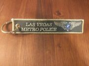 Las Vegas Metropolitan Police - Air Support - Md-530f - Helicopter Keychain Rare