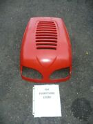 Huskee Red Lawn Tractor Hood 731-2300 In Used Condition Free Shipping