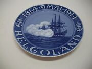 Royal Copenhagen Plate 1914 Helgoland 7 3/4 1761 Made Rc150 / See Details