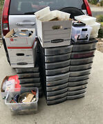 Huge Costume Jewelry Lot Antique Vintage Up Through 1980andrsquos Look Pickup So Calif