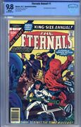 Eternals Annual 1977 1 Cbcs 9.8 Jack Kirby Art Jack The Ripper Cover And Story