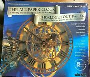 Wrebbit The All Paper Clock 3d Model Kit Puzzle 1993 The Peace Tower