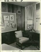 1960 Press Photo Early American Style Furniture On Exhibit In New Jersey