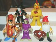 Imaginext Blind Bag Figures And Accessories Lot Of 5 Gnome Chicken Suit Grim Rea