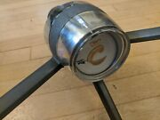 Chris Craft Vintage Steering Wheel With Cable Spool
