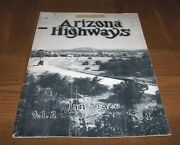 Ultra Rare January 1926 Arizona Highways -volume 2 -number 1- Hard-to-find B And W