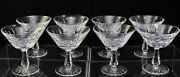 Set Of 8 Waterford Cut Crystal Kylemore Tall Sherbets Champagnes