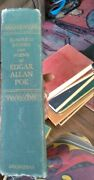 Edgar Allan Poe Complete Tales And Poems 1966 Doubleday Halloween Stories Green