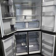 Samsung Rf65a977fb1 French Style Family Hub Fridge Freezer Ice And Water Andndash Black S