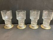 2001 Lord Of The Rings The Fellowship Of The Ring 2001 Glass Goblet Lights Upandnbsp