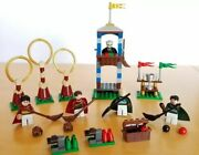 Lego - Harry Potter Sets 4737 Quidditch, 4865 Forest, 4866 Bus And 4726 Quidditch