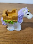 Little People Unicorn Figure Fairy Castle Carriage Horse House Part Fisher Price