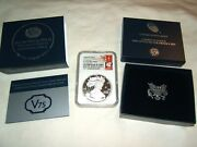 2020 W V75 Silver Eagle Ngc Pf70 Ultra Cameo First Releases With Us Mint Ogp