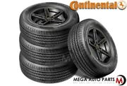 4 Continental Procontact Tx 275/35r19 96w All Season Grand Touring M+s Tires