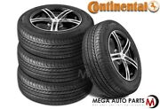 4 Continental Procontact Gx 275/35r19 100h All Season M+s Touring A/s Tires