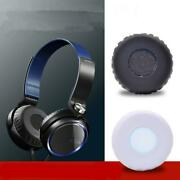 Headphone Protein Leather Sponge L+r Ear Pads Cushion Covers For Sony Mdr-xb400