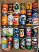 24 Craft Beer Cans 12oz. Laalmsgafl - Free Shipping- Very Empty