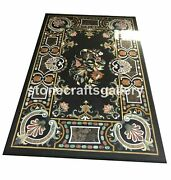 Marble Dining Table Top Precious Mosaic Inlay Stone Restaurant Art Decorate B087