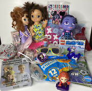 Junk Drawer Toy Lot - 32 Pieces Assorted Toy Items Girl Toy Assortment