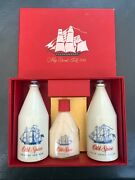 Vintage Old Spice 307 Ship Grand Turk-cologneafter Shaveoutdoor Lotion Box