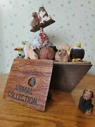 Whoa Noah Vintage Lot Collection Animals Don James Stone Critters