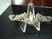 Vietnam Era Us Navy Sterling Silver Submarine Enlisted Menand039s Badge Sub12
