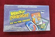 2018 Topps Wacky Packages Go To The Movies Collector's Edition Sealed Box