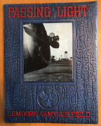 Wwii Passing Light Army Air Force Pilot Training Year Book 1944-a Lemoore Flying