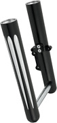Arlen Ness 06-563 Hot Legs For Softail And Dyna Models Black Deep Cut