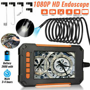 Industrial Endoscope 1080p Hd 4.3and039and039 Screen Borescope Inspection Snake Camera