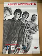 The Replacements Tommy Said So...black And White Twin Tone Rough Trade Poster