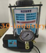 4l Automatic Grease Pump Cnc 60w Lubricating Grease Pump 24/240/380v Andphi6mm 1-4