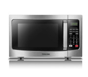 New Microwave Oven W/ Smart Sensor Easy Clean Interior Eco Mode And Sound On/off