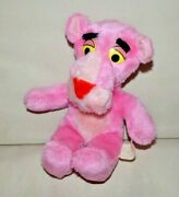 Pink Panther Vintage Plush Beanie Toy Cat - 1980 - United Artists /mighty Star
