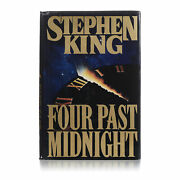 Stephen King Autographed 1st Edition Four Past Midnight Hardcover Book