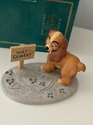 Wdcc Lady And The Tramp Lady In Love Box And Coa